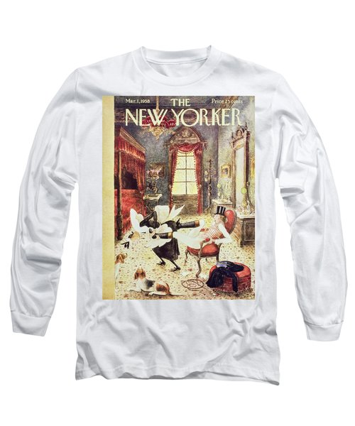 New Yorker March 1 1958 Long Sleeve T-Shirt