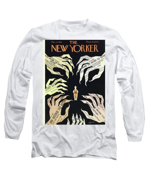 New Yorker March 15 1941 Long Sleeve T-Shirt
