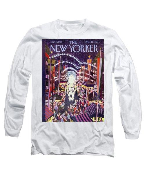 New Yorker September 19 1959 Long Sleeve T-Shirt