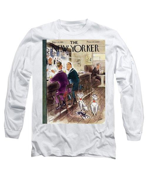 New Yorker September 22 1951 Long Sleeve T-Shirt