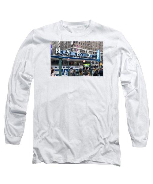 New York's Finest Long Sleeve T-Shirt by Allen Carroll