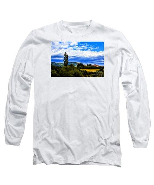 New Zealand Legacy Long Sleeve T-Shirt by Rick Bragan