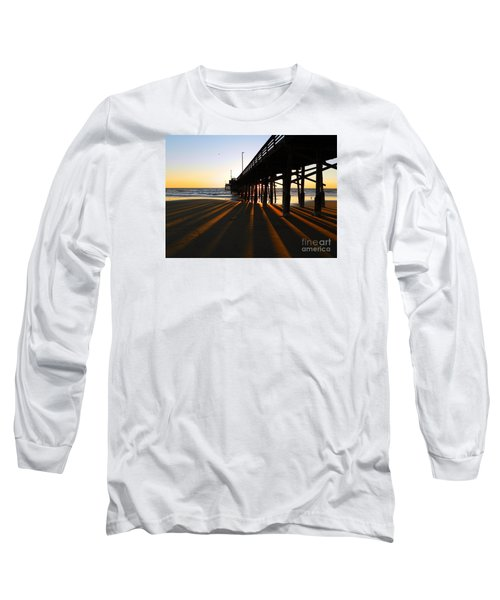 Newport Pier, Newport Beach   Long Sleeve T-Shirt