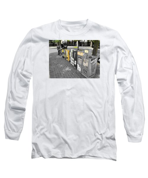 Newspaper Boxes Long Sleeve T-Shirt
