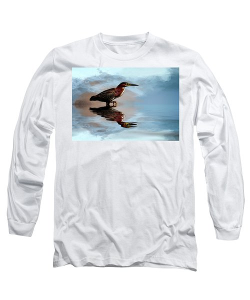 Next Step Long Sleeve T-Shirt by Cyndy Doty