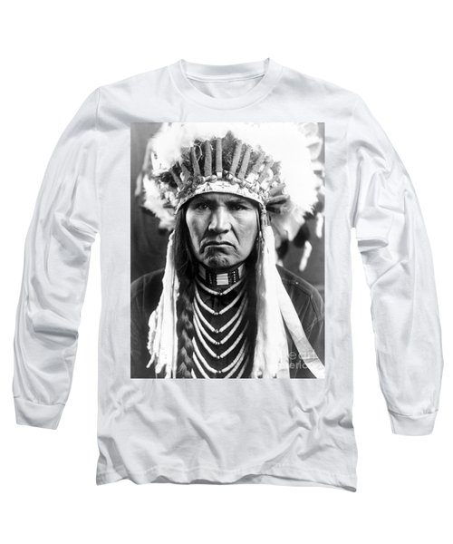Nez Perce Native American - To License For Professional Use Visit Granger.com Long Sleeve T-Shirt