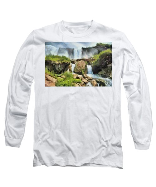 Niagara Falls Cave Of The Winds Long Sleeve T-Shirt