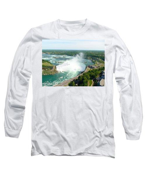 Niagara Falls Ontario Long Sleeve T-Shirt
