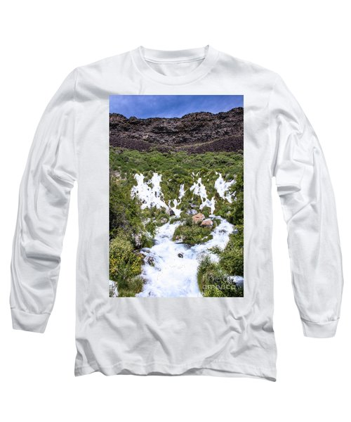 Niagra Springs Idaho Journey Landscape Photography By Kaylyn Franks  Long Sleeve T-Shirt