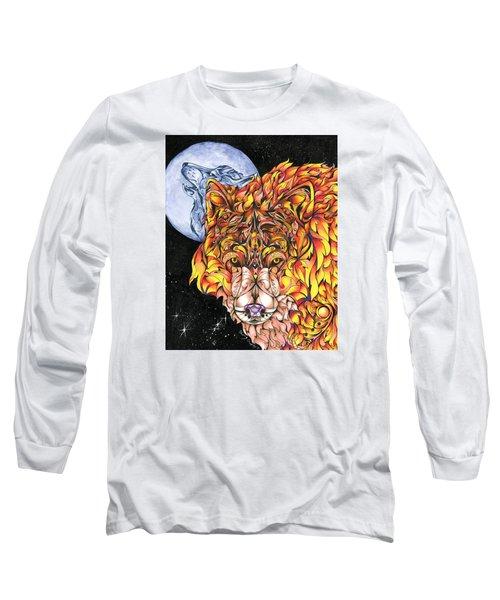 Night Fire Long Sleeve T-Shirt