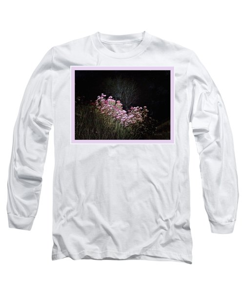 Long Sleeve T-Shirt featuring the photograph Night Flowers by YoMamaBird Rhonda
