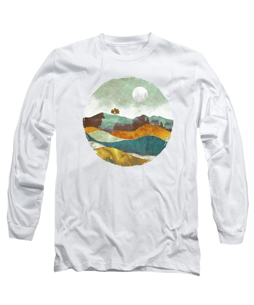 Night Fog Long Sleeve T-Shirt by Spacefrog Designs