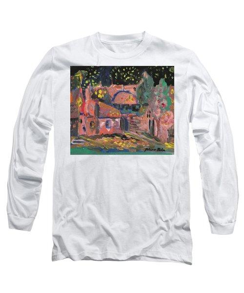 Night Landscape Long Sleeve T-Shirt by Rita Fetisov
