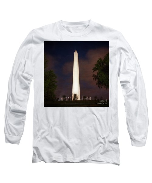 Night Monument Long Sleeve T-Shirt