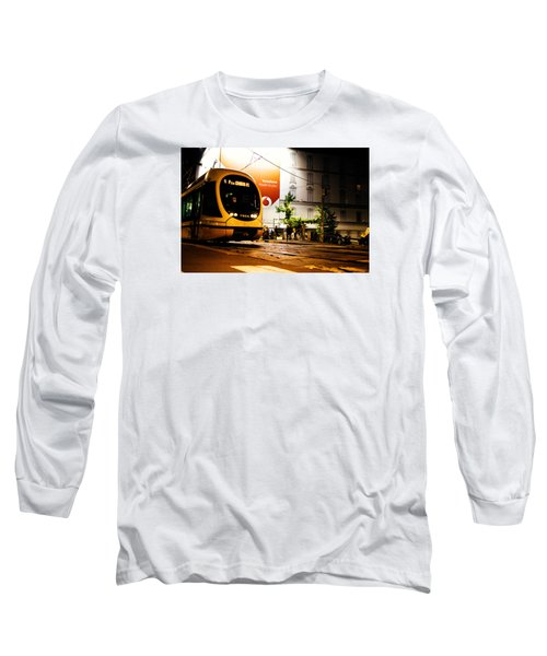 Night Walk In Milan Long Sleeve T-Shirt