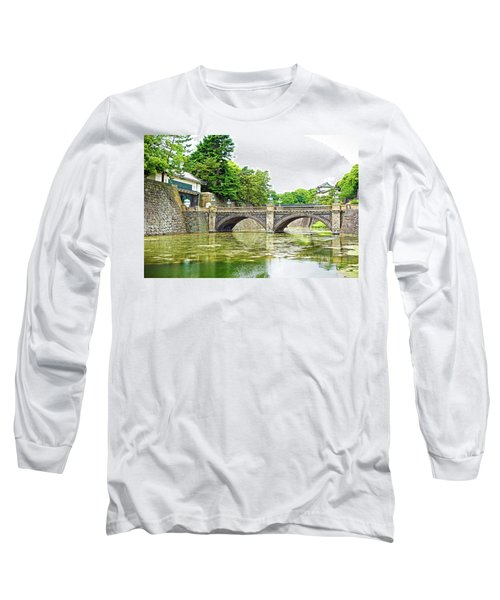 Nijubashi Bridge Long Sleeve T-Shirt