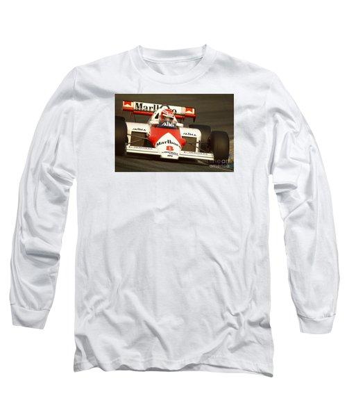 Niki Lauda. 1984 Dutch Grand Prix Long Sleeve T-Shirt