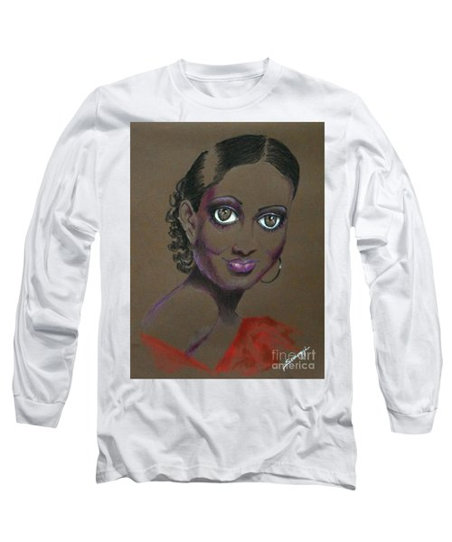 Nina Mae -- African-american Actress Portrait Long Sleeve T-Shirt