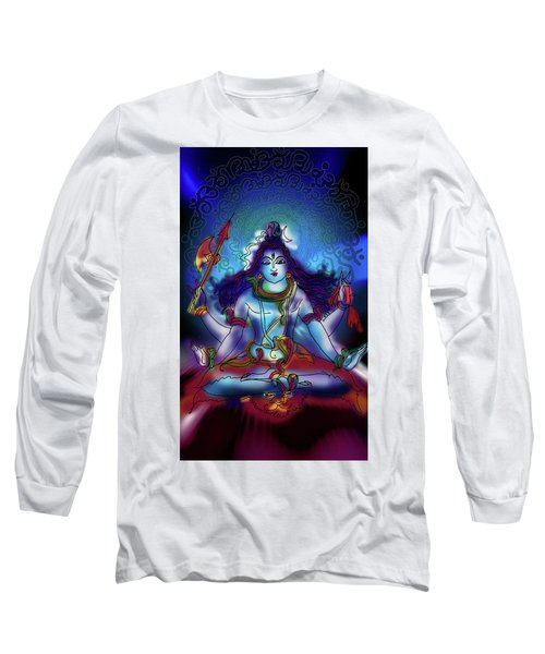 Nirvikalp Samadhi Kapali Shiva Long Sleeve T-Shirt