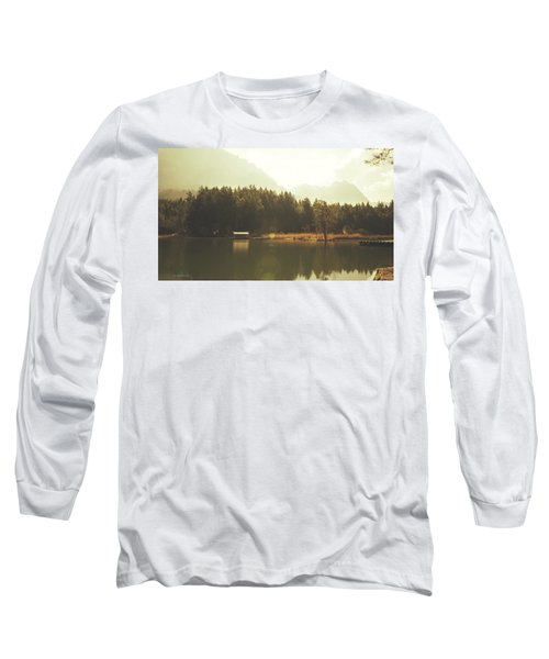 No Ceiling Long Sleeve T-Shirt by Cesare Bargiggia