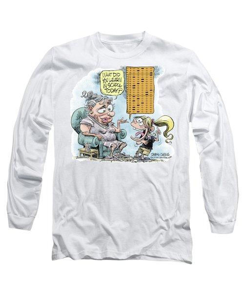 No Child Left Behind Testing Long Sleeve T-Shirt