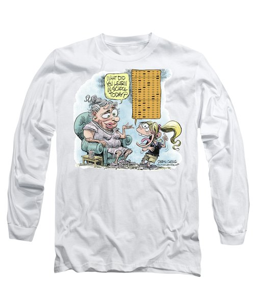 No Child Left Behind Testing Long Sleeve T-Shirt