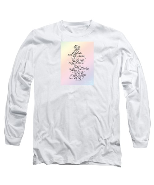 No One Has Seen God Long Sleeve T-Shirt