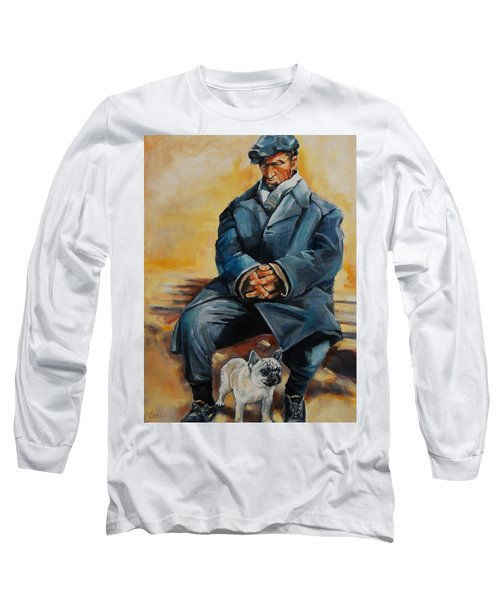 No Permanent Address Long Sleeve T-Shirt by Jean Cormier