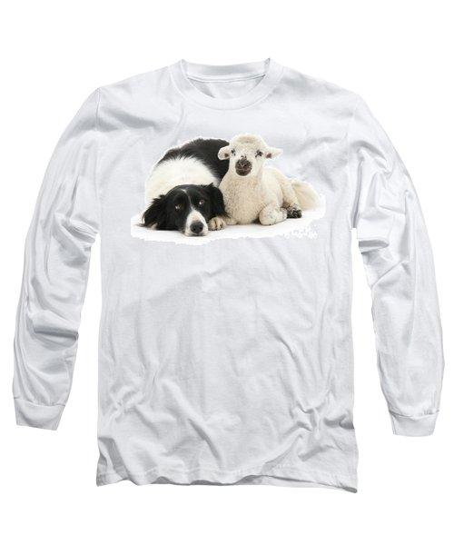 No Sheep Jokes, Please Long Sleeve T-Shirt