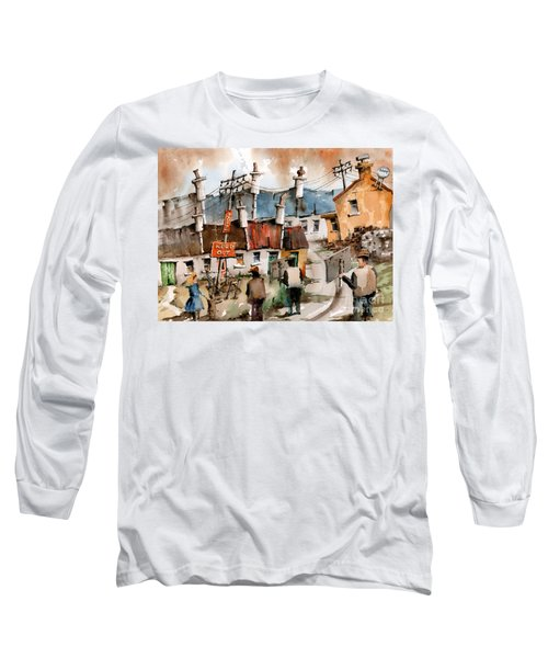 F 729 No To Pylons In Ireland.. Long Sleeve T-Shirt