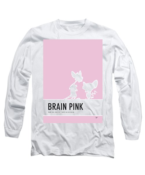 No01 My Minimal Color Code Poster Pinky And The Brain Long Sleeve T-Shirt