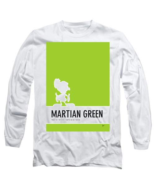 No15 My Minimal Color Code Poster Marvin Long Sleeve T-Shirt