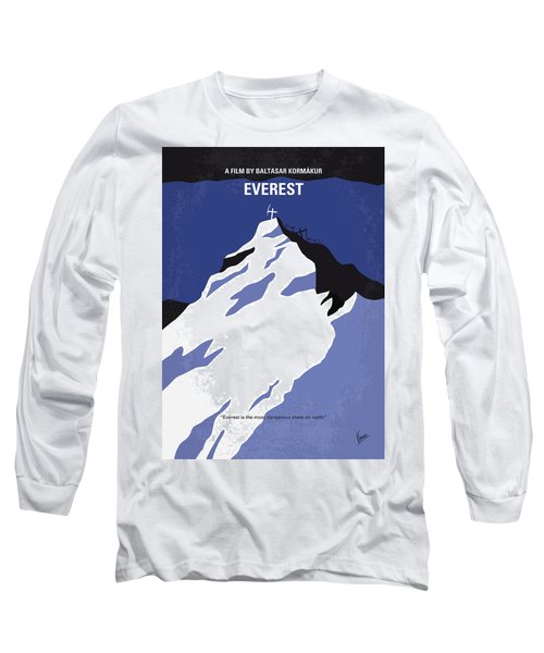 No492 My Everest Minimal Movie Poster Long Sleeve T-Shirt