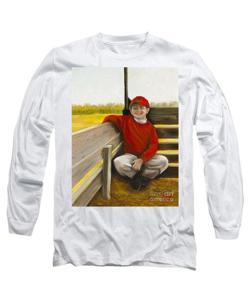 Noah On The Hayride Long Sleeve T-Shirt