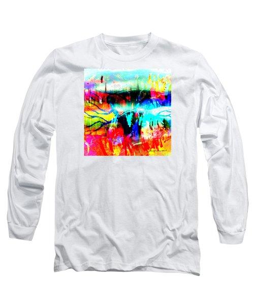 Noel Tree Long Sleeve T-Shirt by Fania Simon