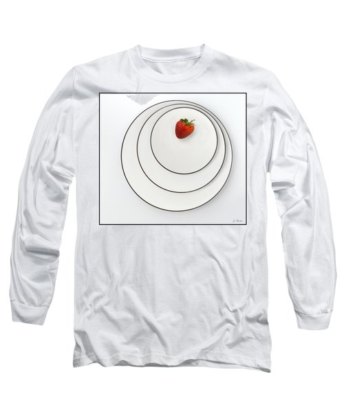 Nonconcentric Strawberry No. 2 Long Sleeve T-Shirt by Joe Bonita
