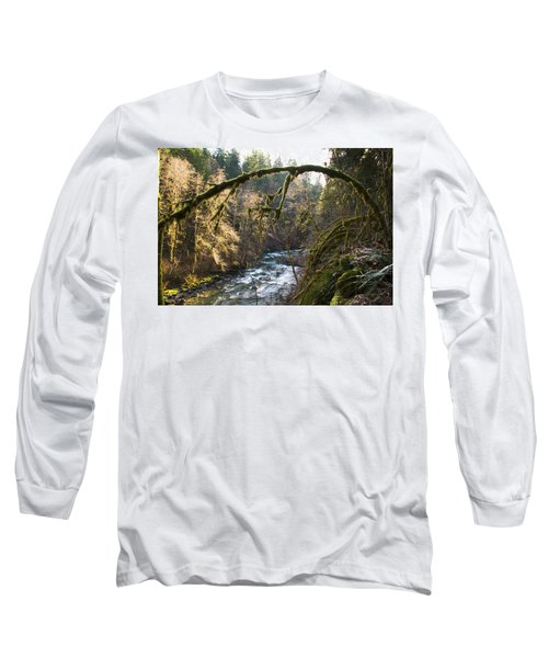 Long Sleeve T-Shirt featuring the photograph Nooksack River by Yulia Kazansky