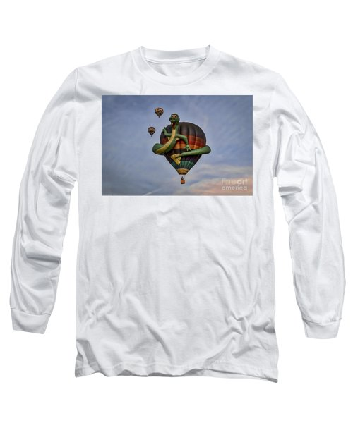 Long Sleeve T-Shirt featuring the photograph Norman by Mitch Shindelbower