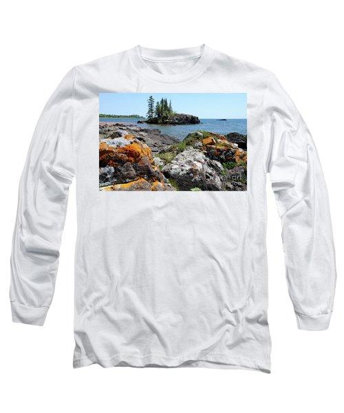 North Shore Beauty Long Sleeve T-Shirt by Sandra Updyke