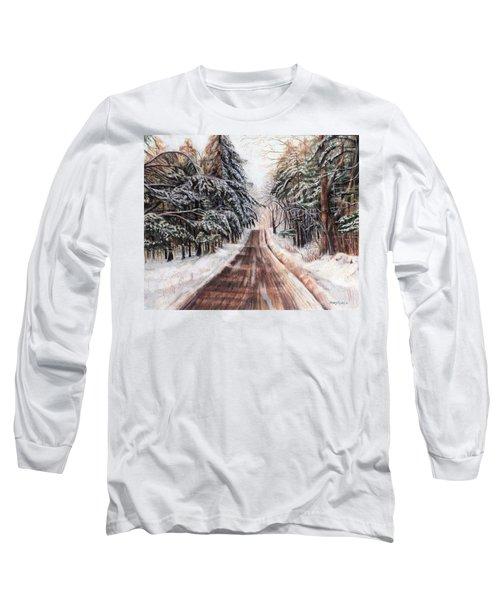 Northeast Winter Long Sleeve T-Shirt by Shana Rowe Jackson