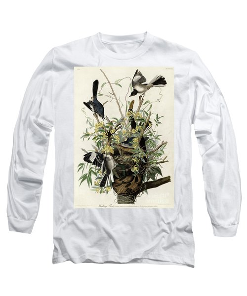 Northern Mockingbird Long Sleeve T-Shirt by Granger