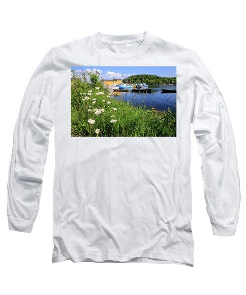 Northwest Harbour, Nova Scotia Long Sleeve T-Shirt