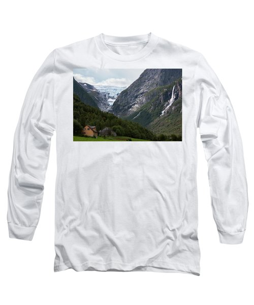 Norway Glacier Jostedalsbreen Long Sleeve T-Shirt