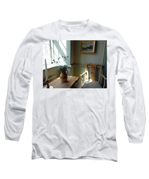 Norwegian Interior #2 Long Sleeve T-Shirt by Susan Lafleur