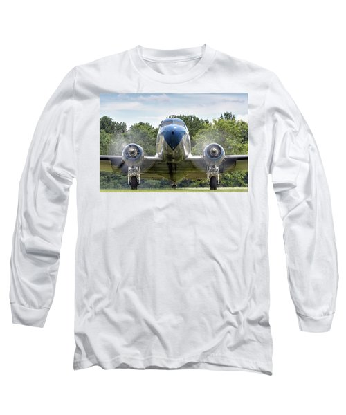Nose To Nose With A Dc-3 Long Sleeve T-Shirt