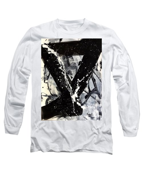 Not Just Black And White Long Sleeve T-Shirt