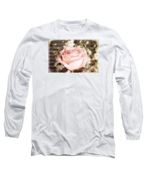 Notes Of Love Long Sleeve T-Shirt