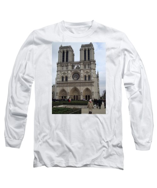 Notre Dame Long Sleeve T-Shirt by Roxy Rich
