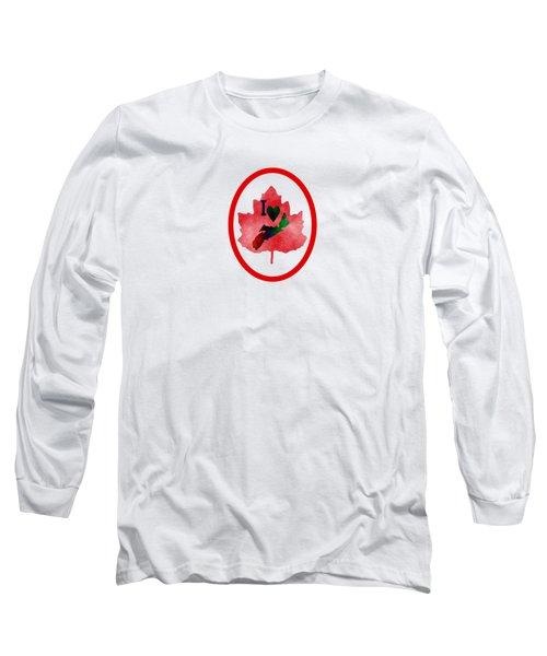 Nova Scotia Proud Long Sleeve T-Shirt by Kathleen Sartoris