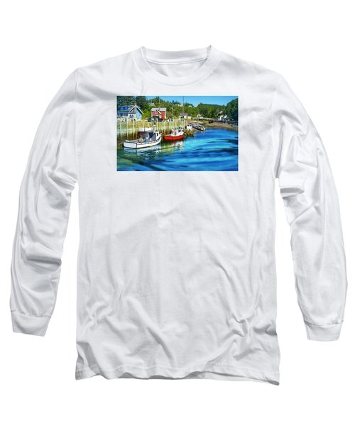 Nova Scotia Long Sleeve T-Shirt by Robin Regan